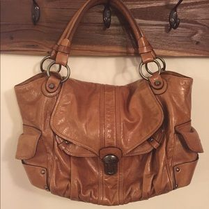 Brown Leather Bag | Francesco Biasia